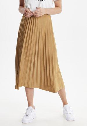 BYTALA  - A-lijn rok - brown