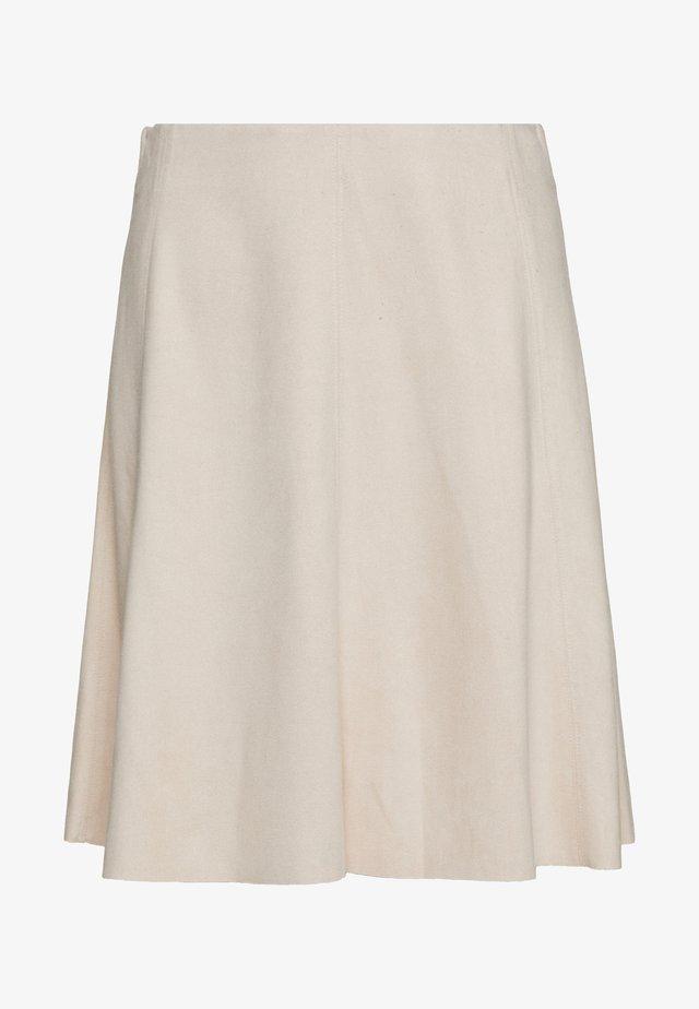 BYRILMA SKIRT - Áčková sukně - cement