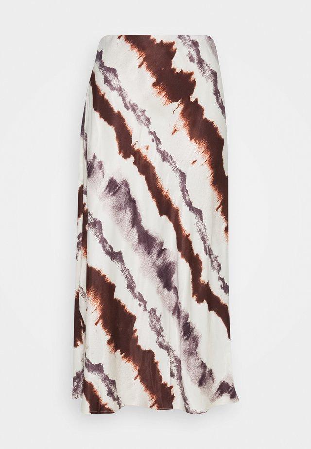 BYHALIMA SKIRT - Áčková sukně - tortoise shell