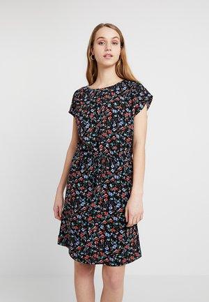 HAILEY  O NECK DRESS - Kjole - black