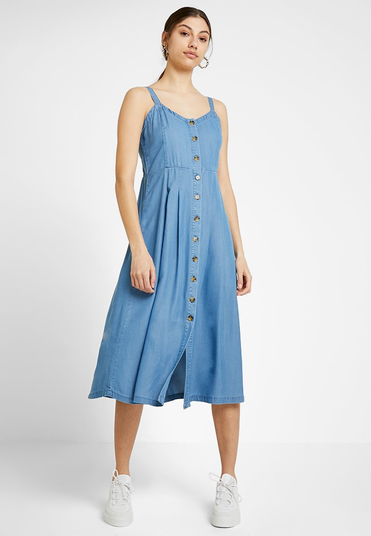 b.young - HARIMO DRESS - Shirt dress - blue