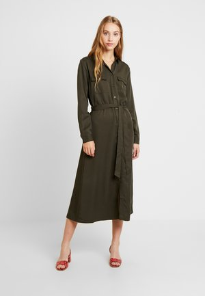 BYINGA DRESS - Paitamekko - peat green