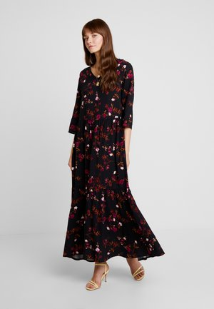 BYGESITA MAXI DRESS - Maxikjole - black combi