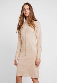 b.young - BYMALEA DRESS - Gebreide jurk - moonlight - 0