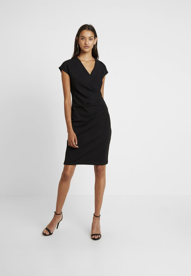 BYSOMIA DRESS - Shift dress - black