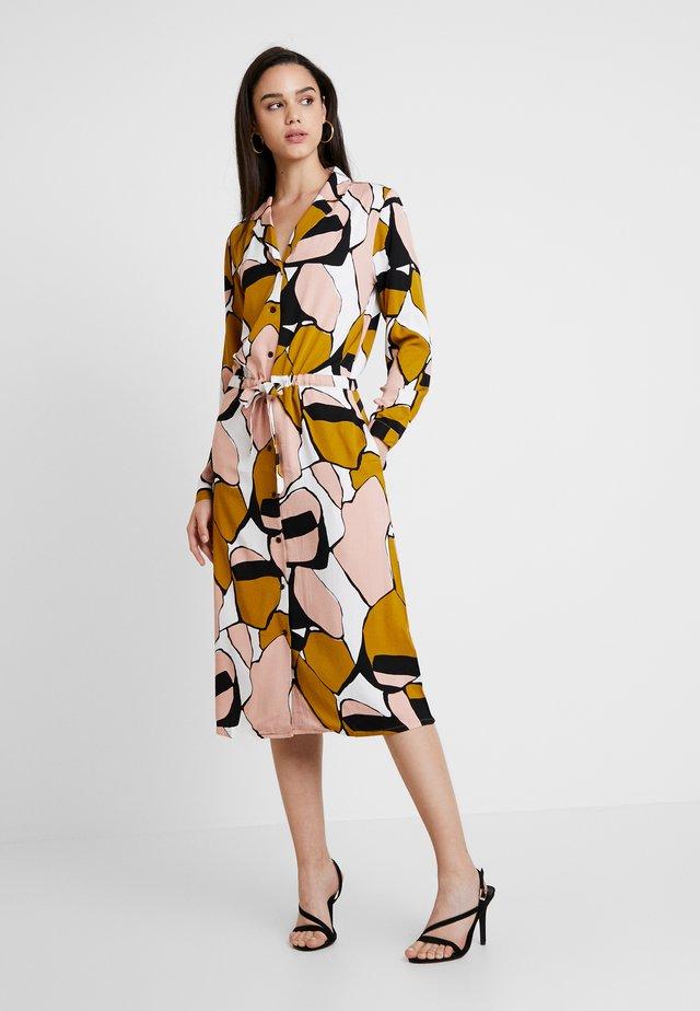 JANNA DRESS - Shirt dress - warm rose