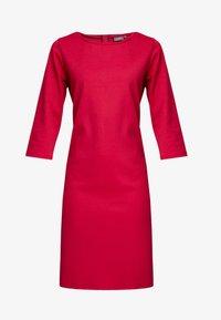b.young - RIZETTA O NECK DRESS - Vestido de tubo - cerise - 6