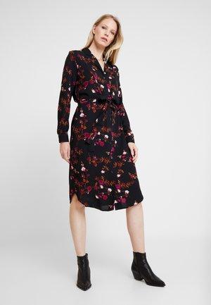 BYGESITA DRESS - Shirt dress - black combi