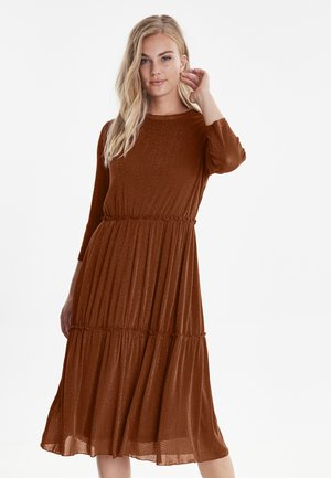 BXTENNE - Day dress - dark copper