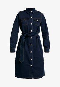 b.young - BYLIKA DRESS BELT - Denim dress - dark rinse blue - 4