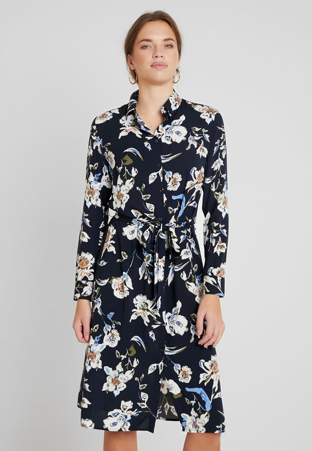 BYILENA SHIRT DRESS  - Maxiklänning - darkblue