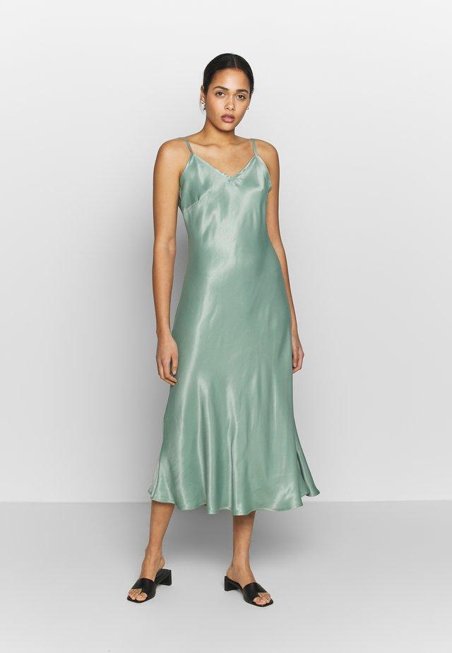 BYHALIMA SLIP IN DRESS - Denní šaty - sea green