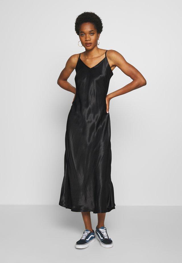BYHALIMA SLIP IN DRESS - Vapaa-ajan mekko - black