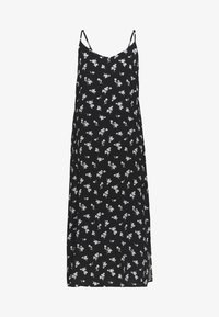 b.young - BYISOLE SLIP IN DRESS  - Maxikjole - black combi - 3