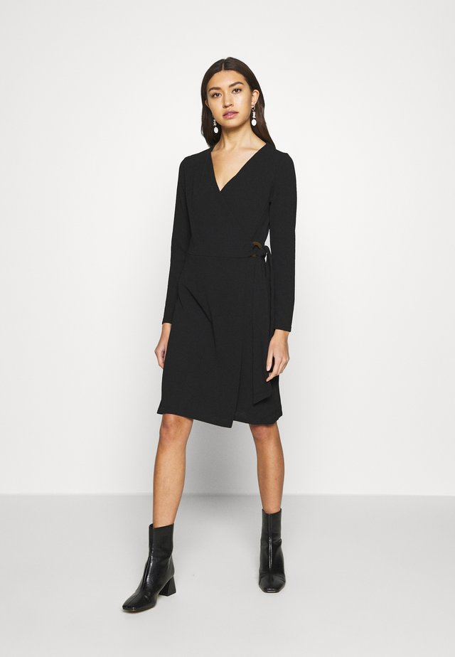 SULI DRESS - Trikoomekko - black