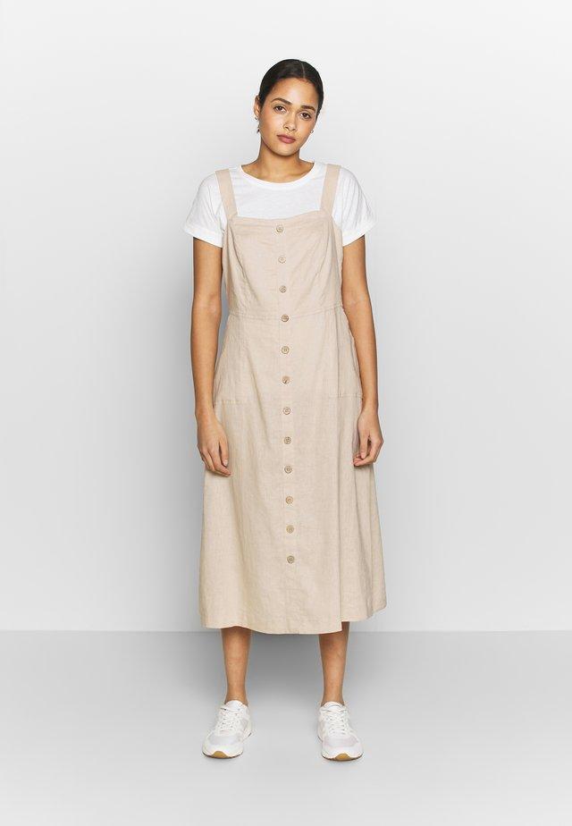 BYDREAM DRESS - Korte jurk - cement