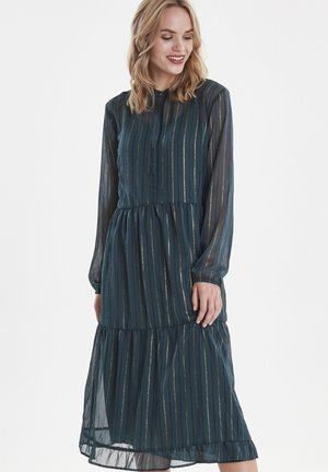 BXJETTE - Shirt dress - majestic green