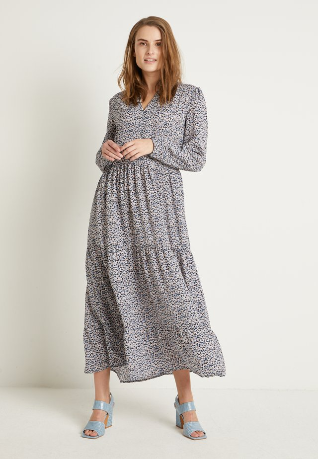 BXITALLA LONG DRESS - Korte jurk - copenhagen night combi