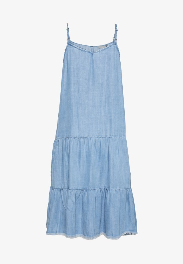 BYLANA STRAP DRESS - Korte jurk - blue denim