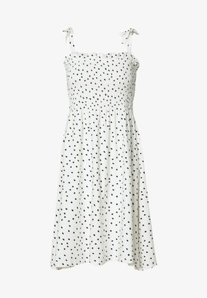 BYPANDINA SMOCKDRESS - Jersey dress - off white