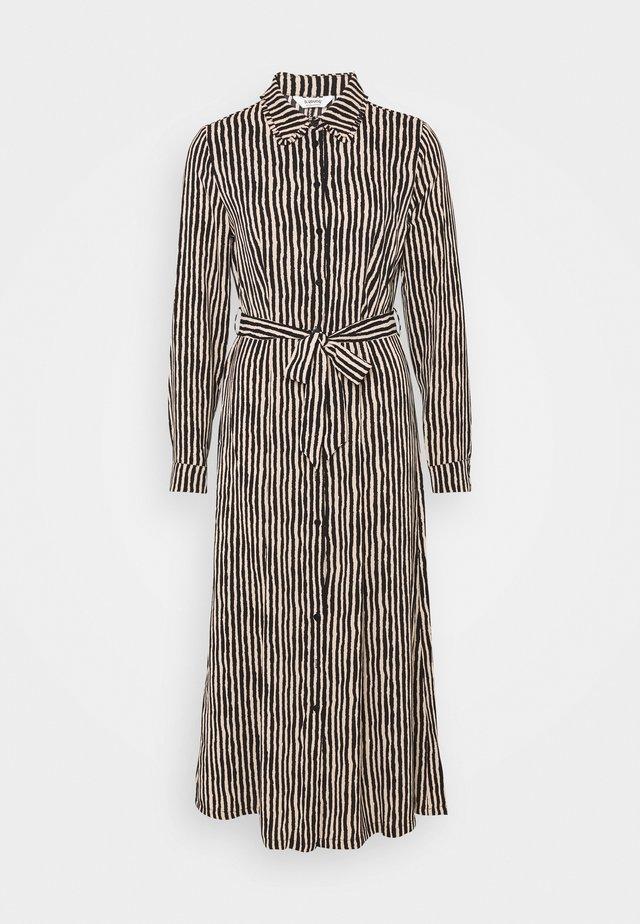 BXHAGGI DRESS - Korte jurk - cement combi