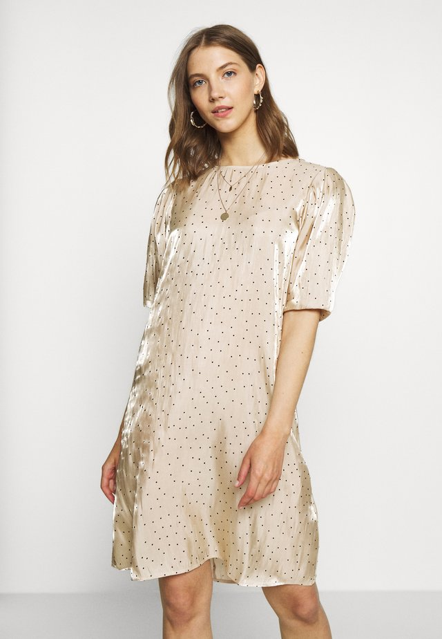 GIELA DRESS - Robe d'été - beige