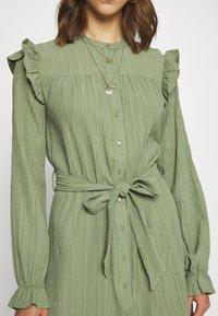 b.young - DRESS - Shirt dress - sea green - 5