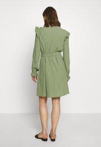b.young - DRESS - Shirt dress - sea green - 2