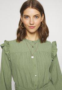 b.young - DRESS - Shirt dress - sea green - 3