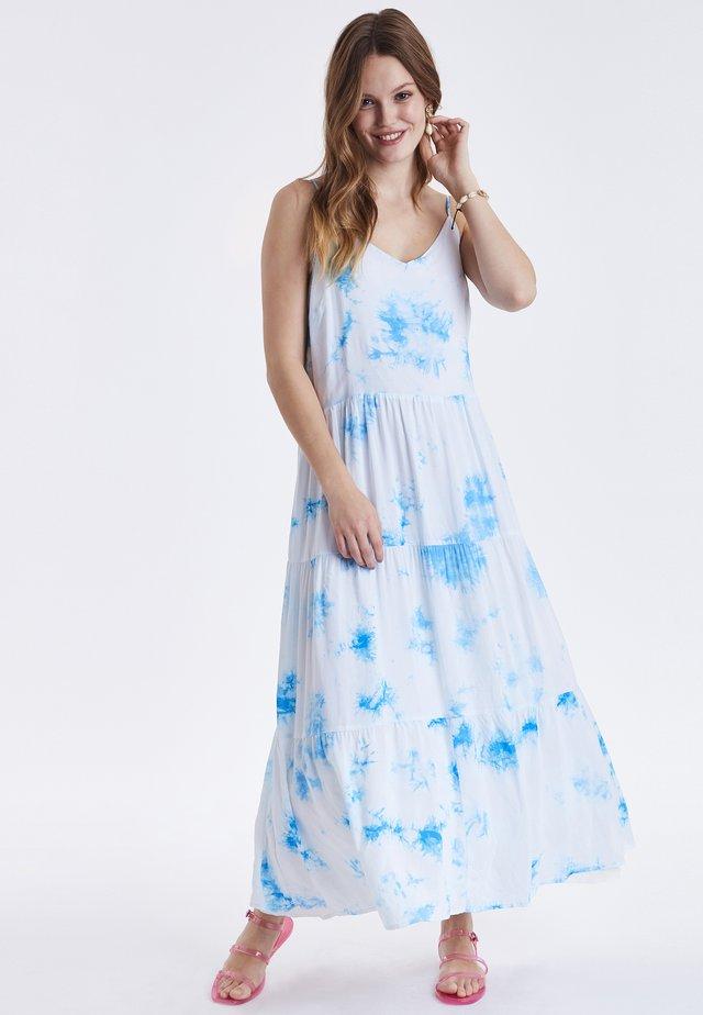 BYHUELLA - Korte jurk - victoria blue