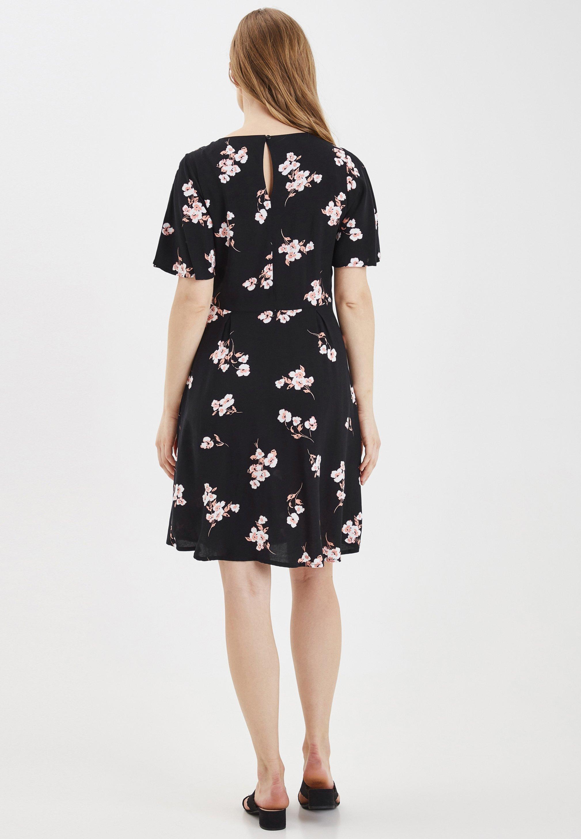 b.young BYISOLE DRESS - LIGHT WOVEN - Sukienka letnia - black