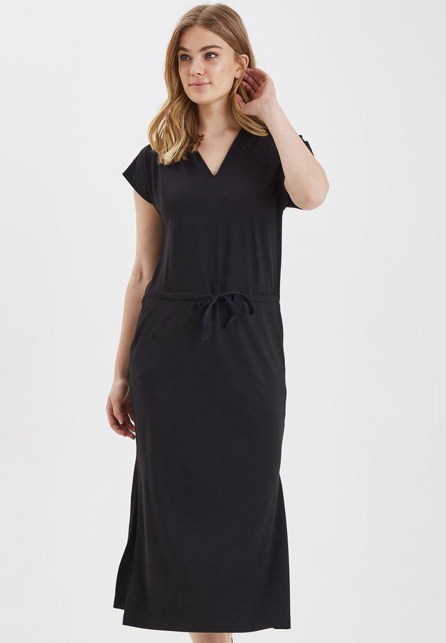 BYSELIA DRESS - JERSEY - Sukienka z dżerseju - black