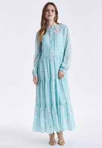 b.young - BYGRACIE - Maxi dress - bleached aqua combi - 0