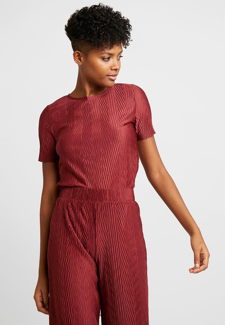b.young - BYTRISHA - T-shirts med print - ruby wine