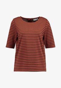 b.young - RIZETTA - T-shirt print - dark copper combi - 5