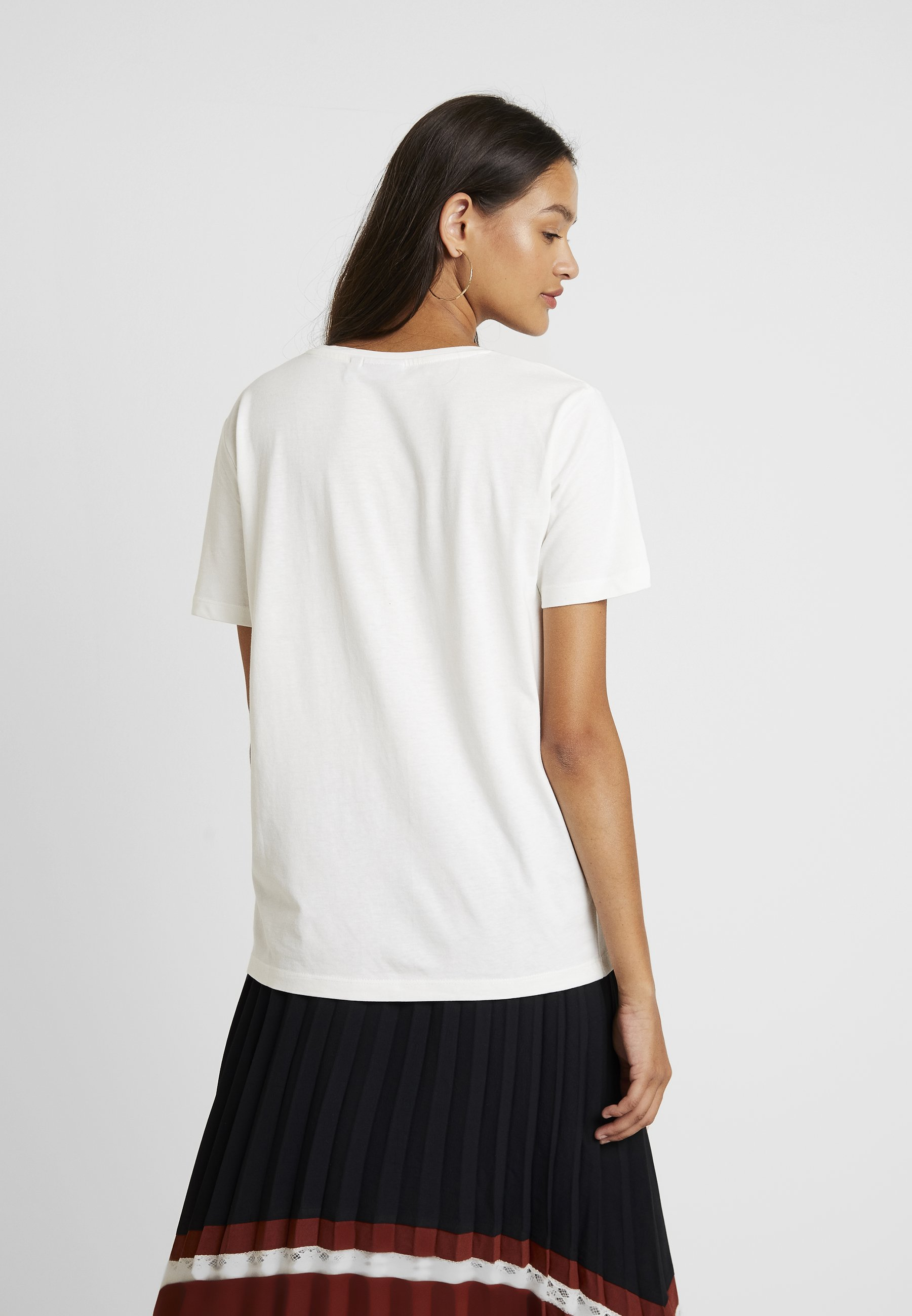 Bytukie White B young FlockT Imprimé shirt Off fyv7g6bY
