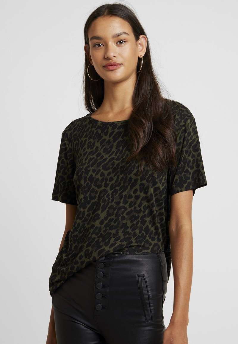 b.young - BYRILLO - T-Shirt print - olive night combi