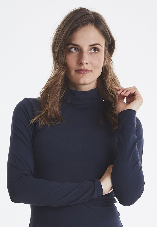 PAMILA - Long sleeved top - dark blue