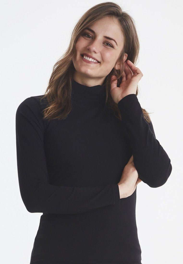 b.young - PAMILA - Langarmshirt - black