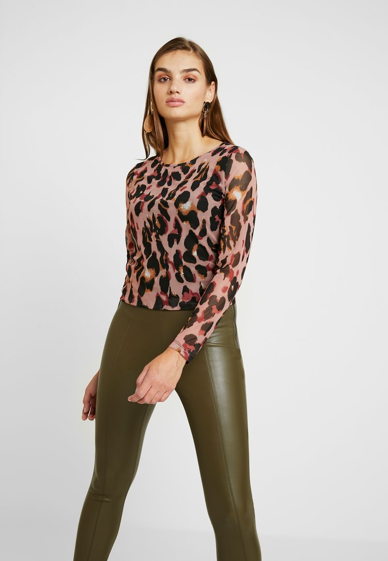 b.young - SILLER - Long sleeved top - brown