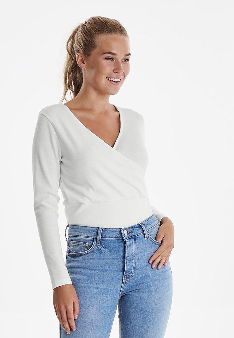 b.young - BXPIANNA  - Langarmshirt - off white