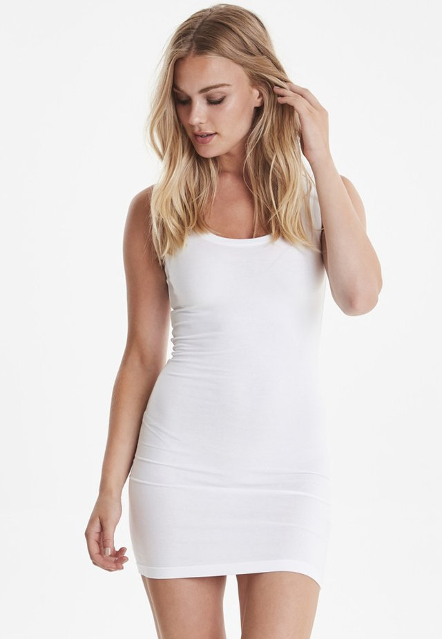 PAMILA - Jersey dress - optical white