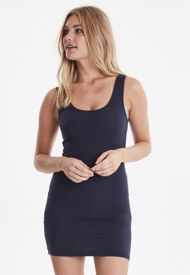 PAMILA - Jersey dress - dark blue