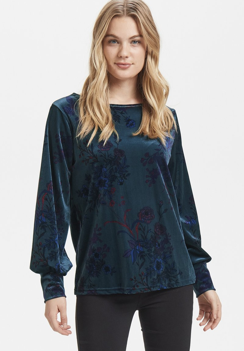 b.young - PERLINA - Blouse - dark blue