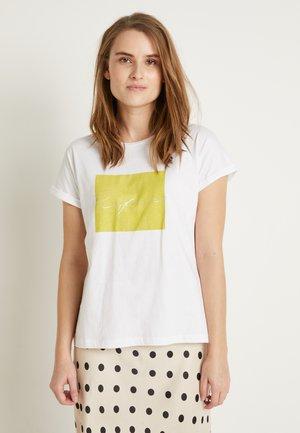 BYSAMIA REFRESH - T-shirts print - optical white