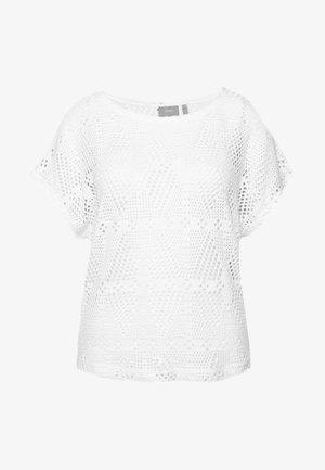 BYSIGRID - T-shirt imprimé - off white