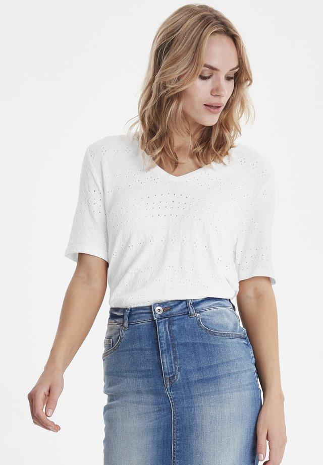 BYPIMA - Print T-shirt - off white