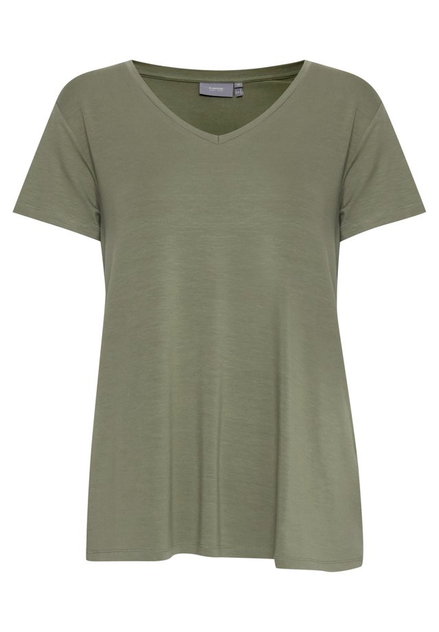 B.YOUNG BYREXIMA  - Basic T-shirt - sea green