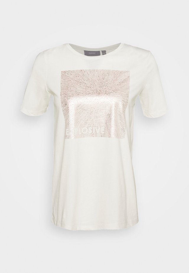 SEMONE  - T-shirts med print - off white