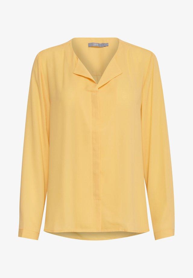 HIALICE - Button-down blouse - cornsilk